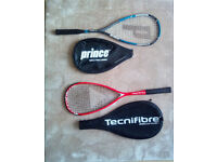 2 squash racquets on offer