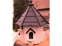 Four nest dovecote compleate with post and feed table