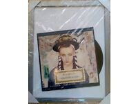 Culture Club Karma Chameleon framed