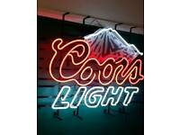 Large Selection Of Commercial Sized Neon Signs Man Cave
