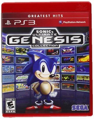 Sonics Ultimate Genesis Collection Ps3  Brand New