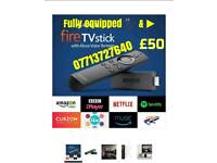 New 2nd generation firestick with easy to use click & play set up fpr perfect entertainment & more