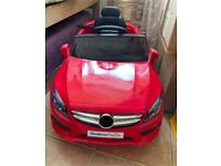 Children's Play Vehicle Red Electric ride-on cars