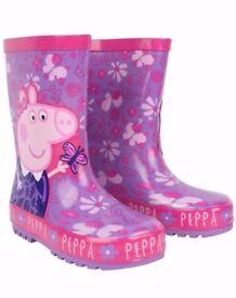 Peppa Pig Size 4 Wellies
