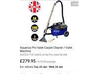 Carpet machine upholstrey machine valet