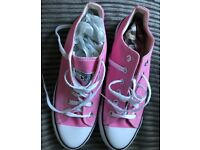 Pink converse all star size 9 for sale