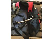 Sailing jacket equipment