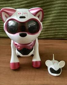 Teksta Robotic kitty and mouse