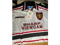 Manchester United 1999 Treble season Away Top, Long sleeved M
