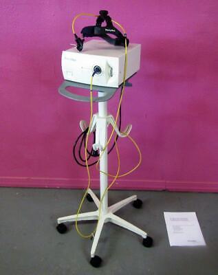 Welch Allyn Cogent Cl300 300 Watt Surgical Headlight Microfiber Headlamp Stand