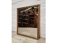 Gilt Framed Wall Mirror (DELIVERY AVAILABLE)