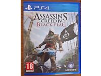 Assassin's Creed IV Black Flag Playstation PS4 (Like new!)