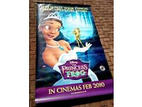 """LARGE """"The Princess and the Frog"""" wall poster (Disney)"""