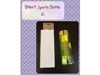 BNWT Water Bottle with Fruit Filter