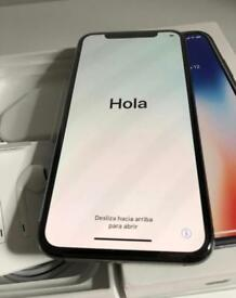 IPHONE X ( for sale or swap with s9+ ONLY + cash my way )