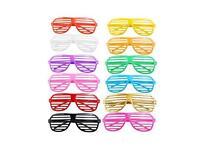Job lot of over 450 Fashion Retro Shutter Shades Glasses Fun Party Novelty Club Aviator Fancy Dress