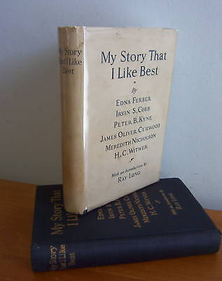 MY STORY THAT I LIKE BEST, Various Authors,1925 in DJ,