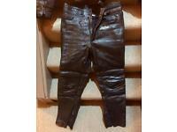 Buffalo Leather trousers