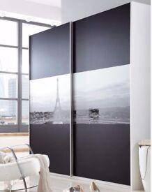 Brand new iconic large sliding wardrobe - Paris Cityscape