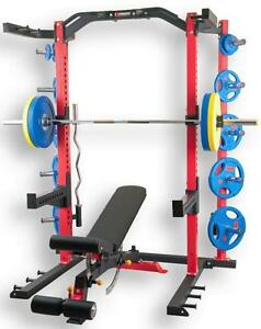 Complete Set NEW eSPORT Direct BODYBUILDING POWER ½ Rack