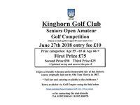 Seniors Open Amateur Golf Competition