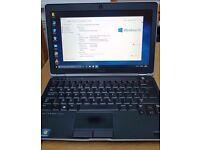 """Dell Latitude E6230 Intel i7 8 GB RAM 500GB HDD 12.5"""" backlit"""
