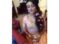 Asian bridal party hair and makeup artist. Experienced make up and hairstylist.