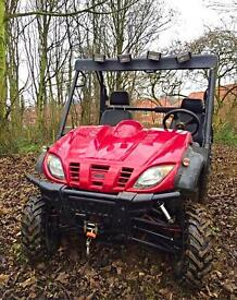 2010 ATV, Utility Vehicle 800cc EFI Petrol Automatic Only 700 hours 4X2 UTV. Quad