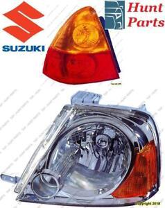 Suzuki Head Lamp Tail Taillamp Headlamp light Fog Mirror Phare Avant Arrière Antibrouillard Lumière Brouillard Miroir