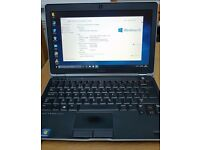 "Dell Latitude E6230 Intel i7 8 GB RAM, 256 SSD 12.5"" backlit"