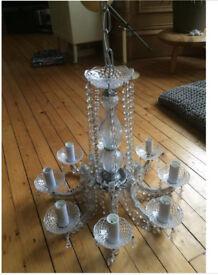 Lovely glass chandelier
