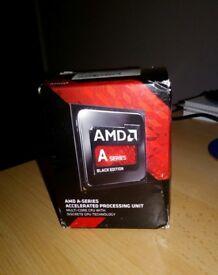 gamer CPU/APU +Motherboard AMD A8-7670K APU 3.6GHz +A88X-Gamer motherboard. good for bitcoin mining