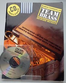 Team Brass: Trombone/Euphonium (Bass Clef) tutorial book/CD