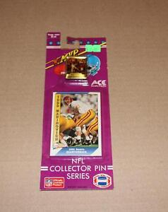 Vintage 1991 Ace NFL Collector Pin Series Todd Marinovich