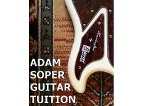 Guitar tuition guitar teacher bass teaching music theory