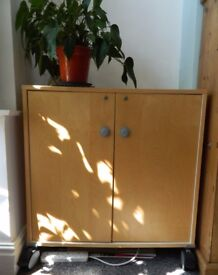 Ikea sideboard, cabinet with shelves and 2 doors, storage