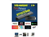 New 2nd generation firestick with alexa remote & full entertainment bundle💥