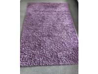 Next large lavender rug 160cm x 230cm