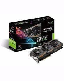 GEFORCE GTX 1080 STRIX GAMING GRAPHICS CARD 8GB