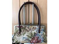 Laura Ashley tapestry handbag