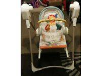 Fisher-Price 3-in-1 Swing-n-Rocker, Excellent condition ,Assembled