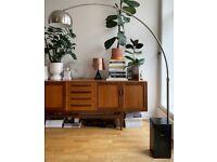 Black Marble Castiglioni Arco Floor Lamp -Replica