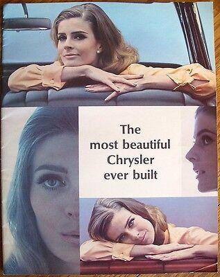 1965 CHRYSLER LARGE PRESTIGE-LIKE SALES CATALOG