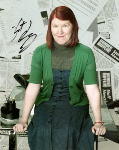 KATE FLANNERY GENUINE AUTHENTIC SIGNED OFFICE 10X8 PHOTO AFTAL UACC [9773] PROOF