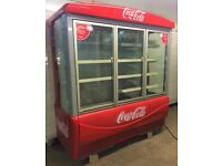 Multi Deck fridge with 3 doors - Coca Cola - Led Lights - Eco friendly