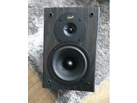 2 gale gold monitor speakers 10.5x7x8inches, 6 Ohms, 15-100w