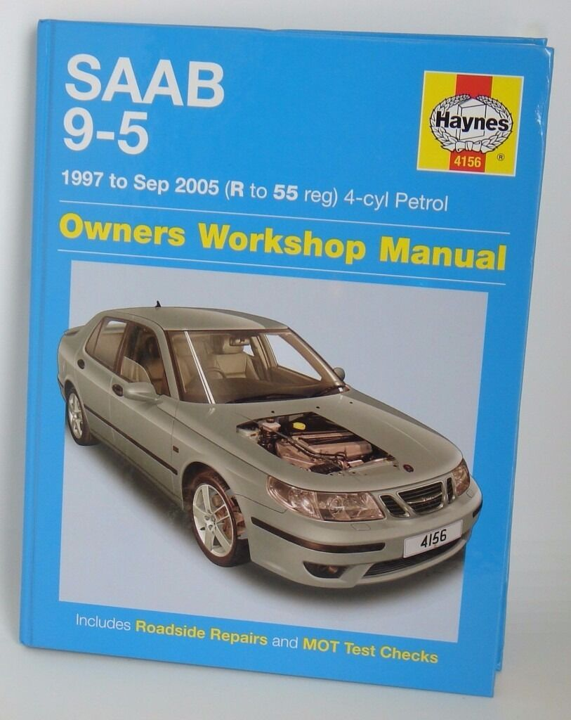SAAB 9-5 Workshop Manual by Haynes for models 1997 to Sep 2005. Only