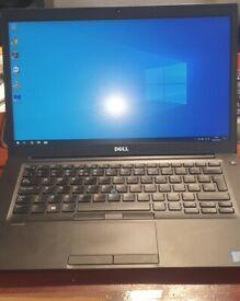 Dell Latitude 14 FHD 7480 Laptop 16gb DDR4 Ram intel i5 7th Gen Vpro 256gb M.2 SSD Office 2016