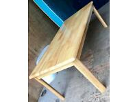 SOLID WOODEN COFFEE TABLE - QUICK SALE £30 ONO