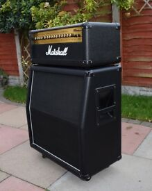 Marshall MG100HDFX With Marshall 4x12A Cab